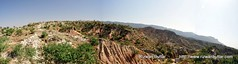 Tila Jogian Panorama (rizwanbuttar) Tags: road pakistan mountain jeep hill off rizwan tilla jehlum buttar jogian