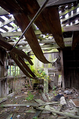 Abandoned farmhouse interior (mfeingol) Tags: wood abandoned rotting farmhouse farm interior valley skagit derelict rundown skagitvalley skagitcounty