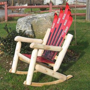 Red Elan Log Rocker