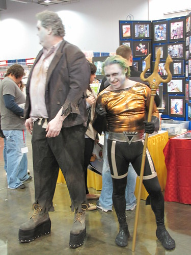 Solomon Grundy and Black Lantern Aquaman again