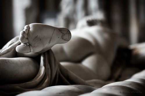 hermaphroditos asleep