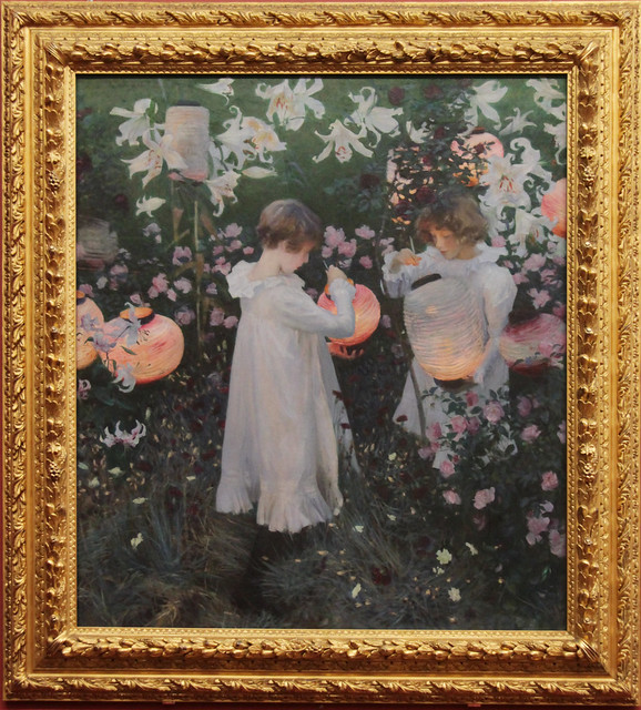 Carnation, Lily, Lily Rose, by John Singer Sargent, 1885-6