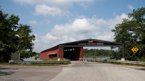 Langley Covered Bridge-Michigan-5