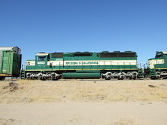 ARZC 4003, Parker AZ (AA654) Tags: arizona loco az locomotive parker emd sd402 4003 arizonacalifornia arzc