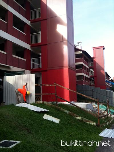 Lift Upgrade in Toh Yi Estate