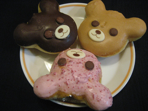 Angel Teddy Donuts from Mister Donut