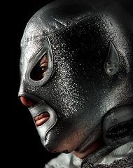 El Hijo del Santo . 3047 (WakamouL) Tags: silver mexico mask wrestling plata hero luchalibre mascara legend lucha gp heroe leyenda enmascaradodeplata ltytr1 hijodelsanto gpcomretratos