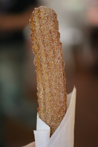 Churro stand--hell to the yes