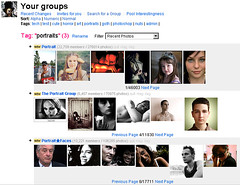 Flickr Groups Organiser
