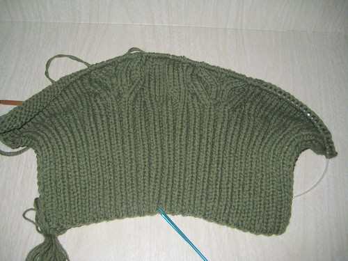 Sweater with Cables - Rebecca #30