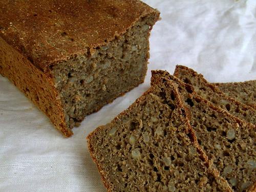 Pan integral de centeno y cebada (Foto de: Ibán)