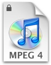 Fichier AAC MP4 iTunes DRM