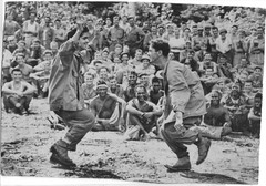 The Jitterbug? (afigallo) Tags: usmc war dancing pacific wwii ww2 marines jive jitterbug saipan