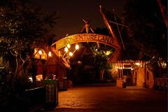 Adventureland Entrance at Night (StartedByAMouse) Tags: night disneyland entrance disney adventureland polynesian sbam