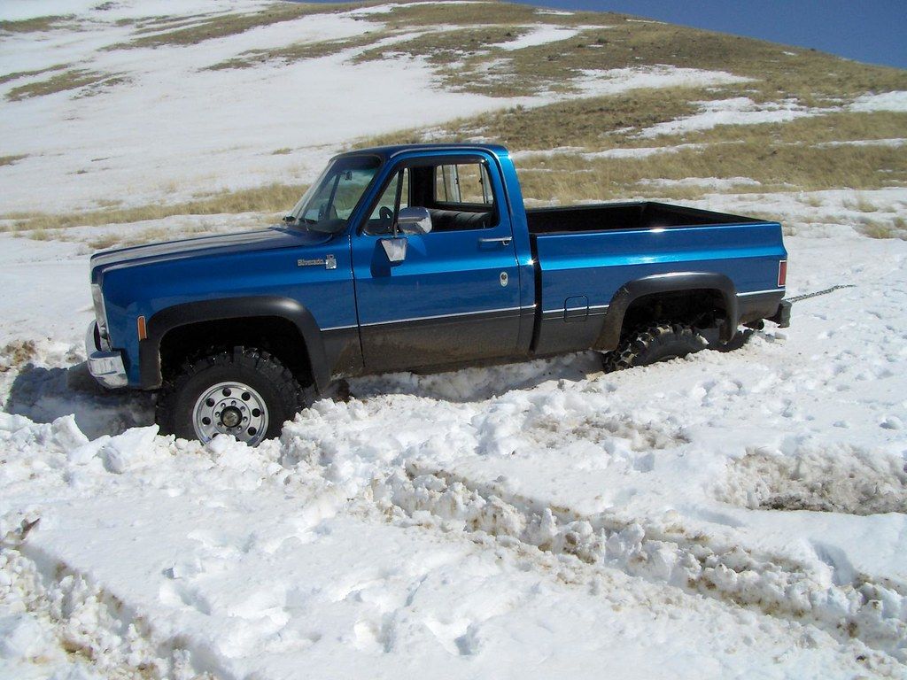 Lets see some pics of 4x4 s in the snow mud or whatever else page
