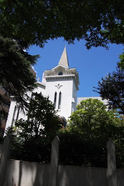 日本で最初のプロテスタント教会(横浜海岸教会)