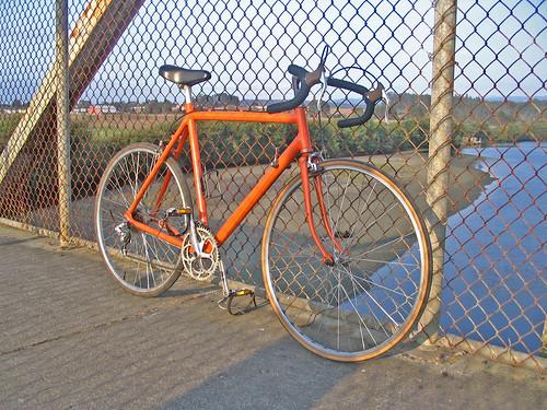 Maiden voyage, fancy bike