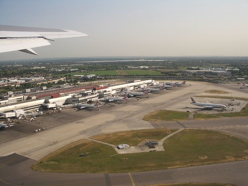 Touching down at London's Heathrow Airport