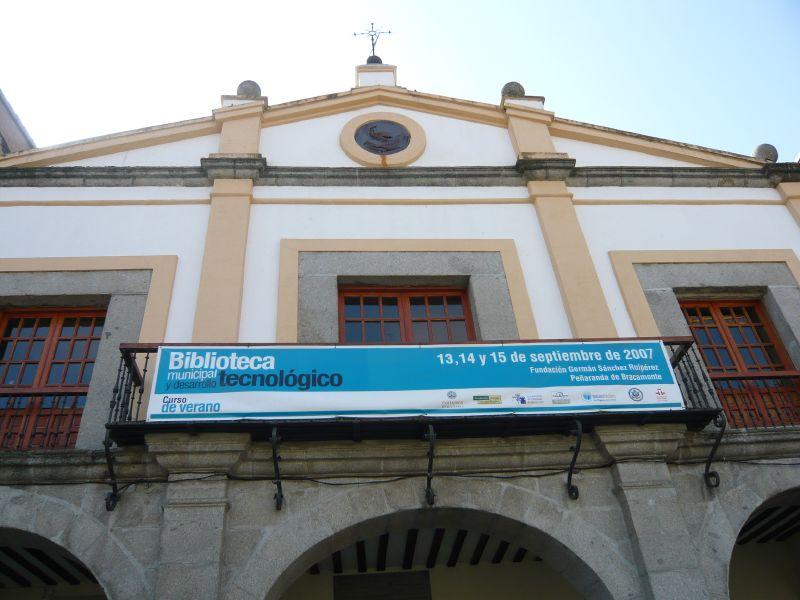 Fundación German Sanchez Ruipérez en Peñaranda
