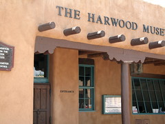 Harwood Museum Of Art, Taos, NM, photo by QuoinMonkey, all rights reserved.
