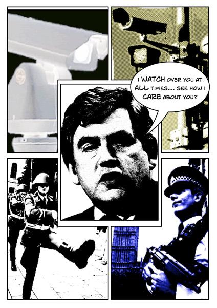 Gordon Brown - Watching Everyone