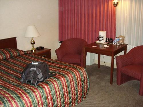 Hotel room in Calgary