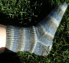 Plain Wintery Sock