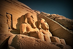 Abu Simbel. Egypt.- (ancama_99(toni)) Tags: pictures africa old trip travel vacation sculpture house holiday color building art church nature sphinx architecture geotagged temple photography photo interestingness interesting ancient king arte cross desert pyramid cathedral photos religion egypt picture esculturas mosque photographic nile escultura explore cairo estatuas egyptian temples pyramids egipto aswan sculptures giza templo egitto egipte ramsesii egypte 2007 1000views afrique abusimbel pharoh ramessesii 10000views 5000views 10favs 50faves 10faves 50favs egyptien ramsesthegreat 25faves sungods mywinners aplusphoto diamondclassphotographer ancama99 interesantsimo templesaswan