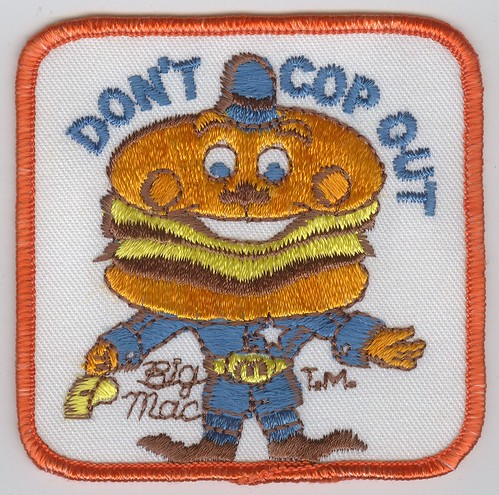 Officer Big Mac Patch