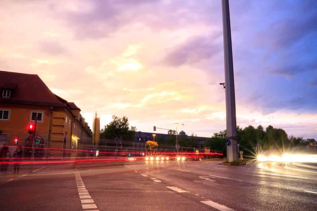 Sunset in Stuttgart. Day Fortysix of 365