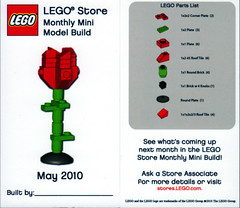 LEGO Store MMMB May '10 - Rose (TooMuchDew) Tags: holiday rose lego may rosa legostore legoimaginationcenter legoinstructions mmmb toomuchdew monthlyminimodelbuild licmoa minimodellbauevent