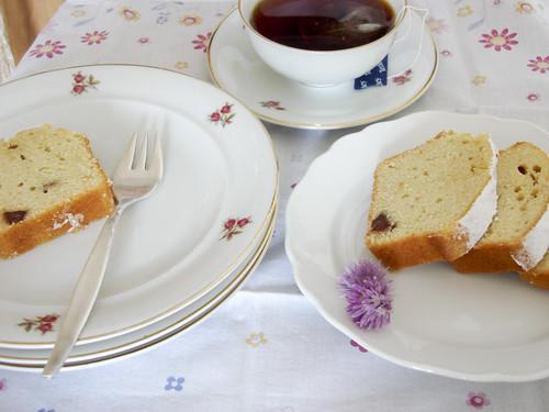 Teegesellschaft mit Leilas Tüpflihupf