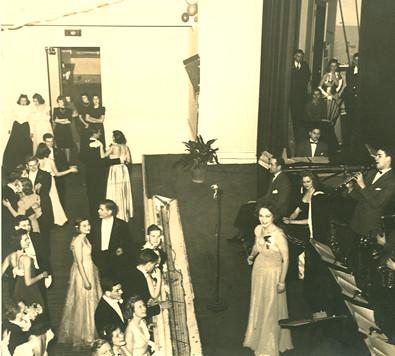 The Junior Prom in 1940. Can you spot the future Vassar Historian?