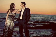 Remi & Veronique Engagement shoot in Laguna Beach