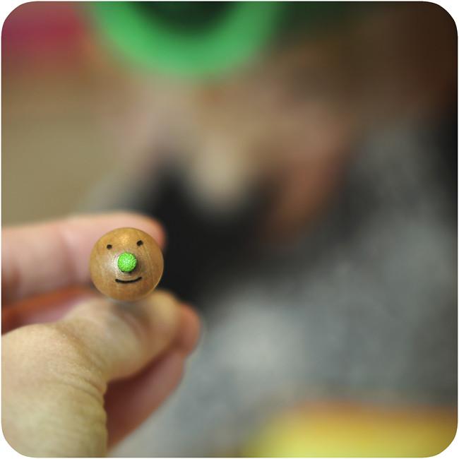 grön näsa