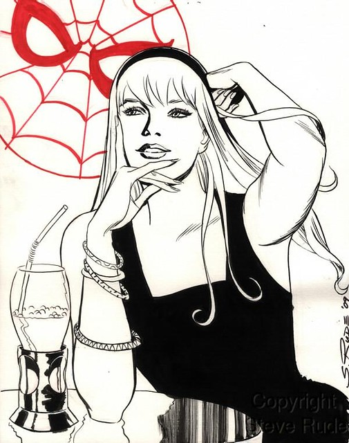 Gwen Stacy by Steve Rude