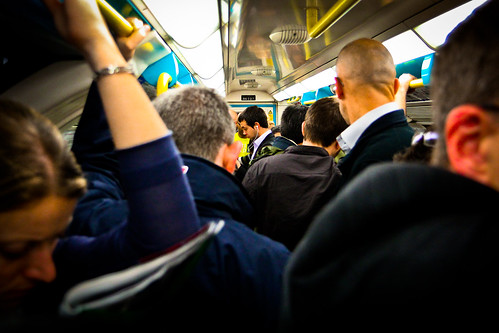 Crowded Tube by modenadude