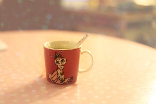 new cup new tea.