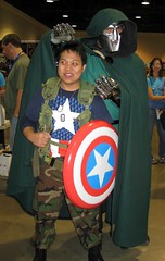 Dr. Doom and Captain America