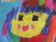 פורטרט שציירה שירה (בת 8)
