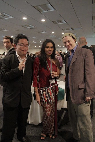 With Rob and Maria Isabel Lopez
