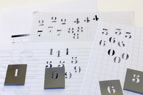Kistenschrift Zahlen