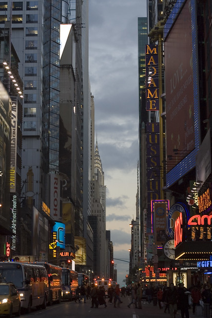Crossing 42nd Street