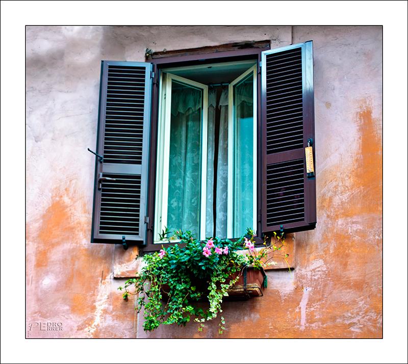 Roma - Trastevere - Window Hunter part III