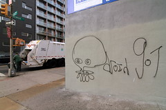 ufo droid 907 (Luna Park) Tags: nyc ny newyork trash graffiti garbage manhattan ufo lunapark droid 907