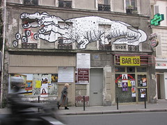 Zoo Project (tofz4u) Tags: streetart paris sign graffiti tag panneau enseigne artderue 75020 zooproject bar138