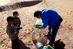 Sharing our water with the nomads