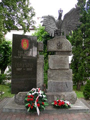 Monument Terespol (LeoKoolhoven) Tags: monument poland polen 2007 terespol