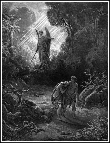 Резултат с изображение за fall of adam and eve