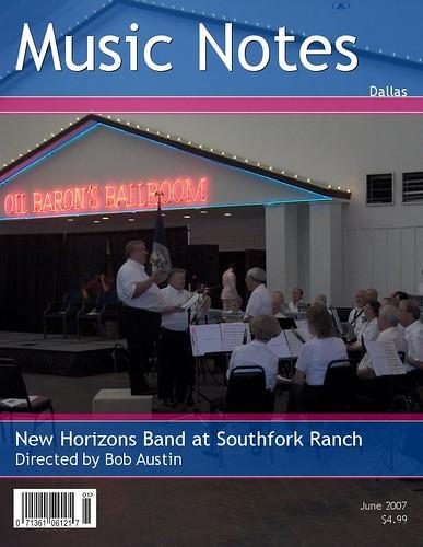New Horizond Band plays at Southfork Ranch